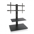 L&C Handy 120cm TV Standfuß Black