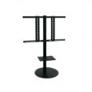 L&C Pedestal 1 TV Standfuß Black