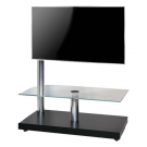 L&C Flag Tower Deluxe TV Standfuß Schwarz
