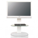 L&C Totem 1200 TV Standfuß White