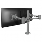 ViewMate Style Duo Plus Monitorarm 632 Silber