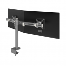 ViewMate 642 Duo Monitorarm Silber