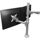 ViewLite Duo Monitorarm 142 Silber
